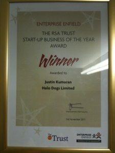 Start-Up Business Award 2011
