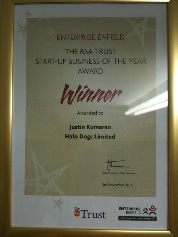 Start-Up Business Award 2011